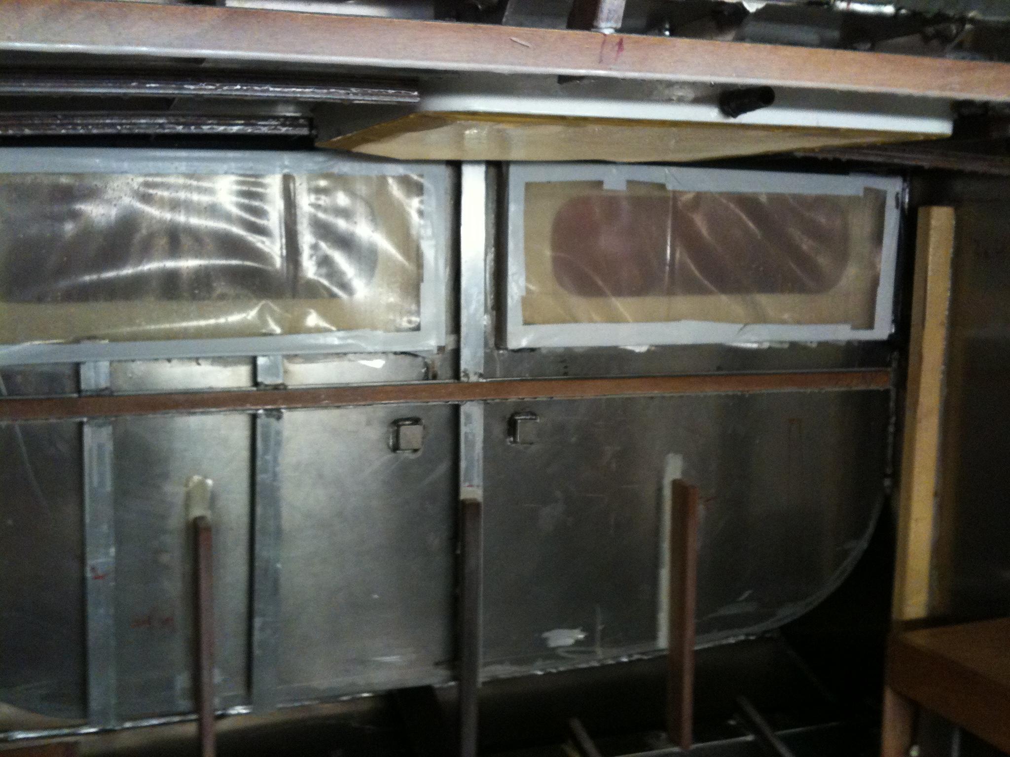 Die Isolierung einer Aluminium Yacht   Segelyacht Stella Maria